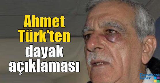 Ahmet Türk'ten dayak açıklaması