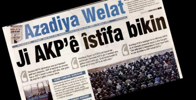 AİHM, Türkiye'yi Azadiya Welat'tan mahkum etti