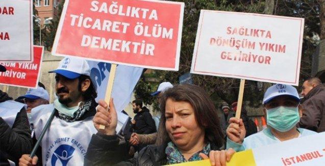 Aile hekimlerinden üç günlük grev