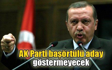 AK Parti başörtülü aday göstermeyecek