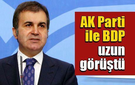 AK Parti ile BDP uzun görüştü