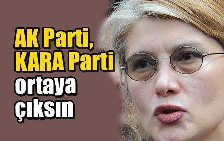 AK Parti, KARA Parti ortaya çıksın