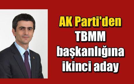 AK Parti'den TBMM başkanlığına ikinci aday