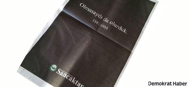Akit'e o ilanı veren konuştu: Mustafa Kemal'i sevmem