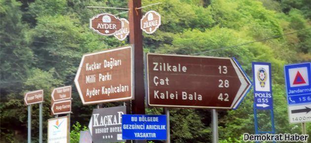 AKP Çamlıhemşin adayına tesis kıyağı