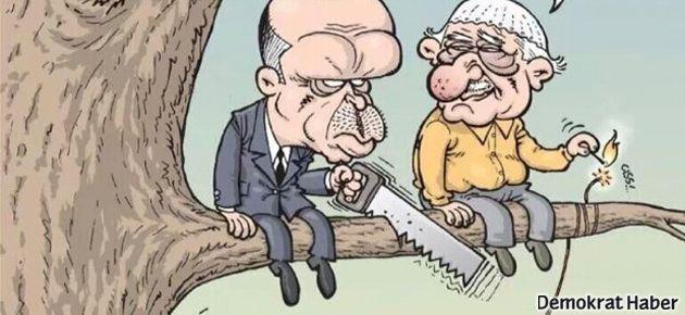 AKP-Cemaat kavgası Gırgır'ın kapağında