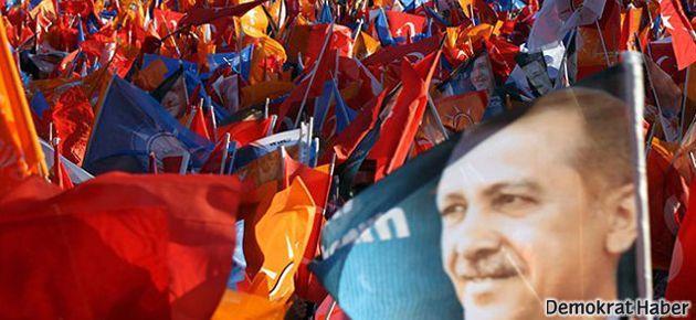 AKP mitingi sonrası habercilere saldırı