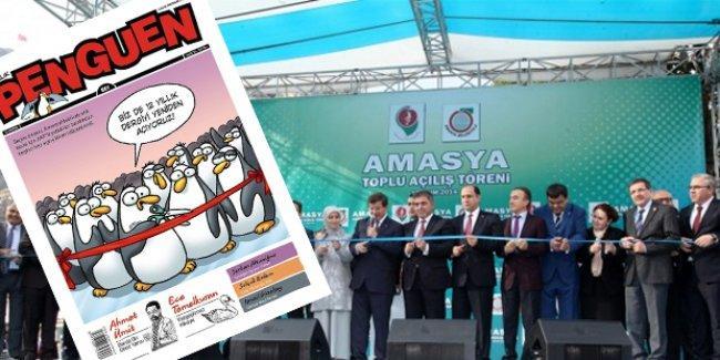 AKP'nin beş kez açılışını yaptığı tesis Penguen'de: Biz de 12 yıllık dergiyi yeniden açıyoruz