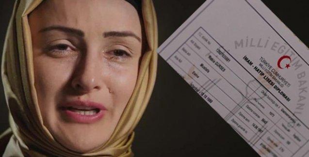 AKP'nin reklamında sahte diploma