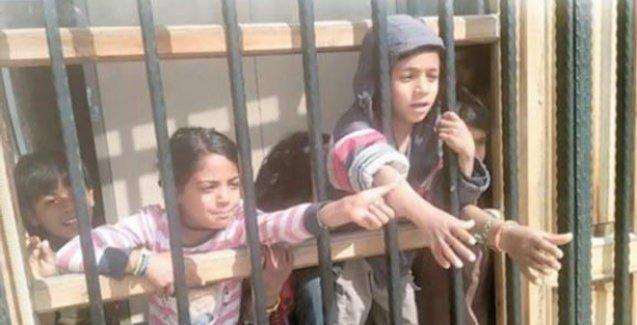 AKP Şanlıurfa Belediyesi, dilenen çocukları hapsetti!