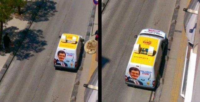 AKP, seçim aracı olarak PTT'ye ait kargo araçlarını mı kullanıyor?