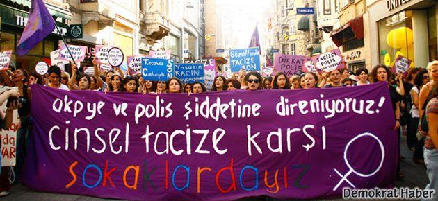 'AKP'den, tacizci polisten korkmuyoruz'