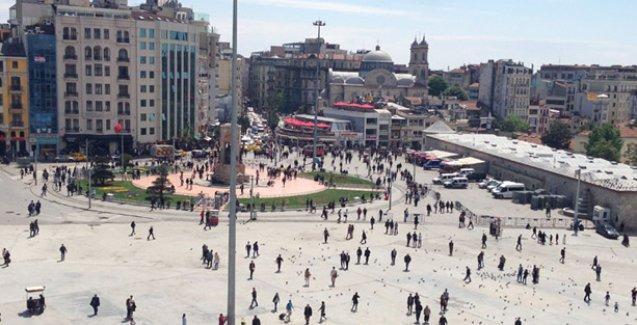 AKP'li Beyoğlu Belediyesi'nin 'ağaçlandırma'dan anladığı: Saksı adacıkları