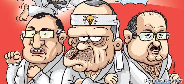 AKP'li vekilin uçan tekmesi Gırgır'da