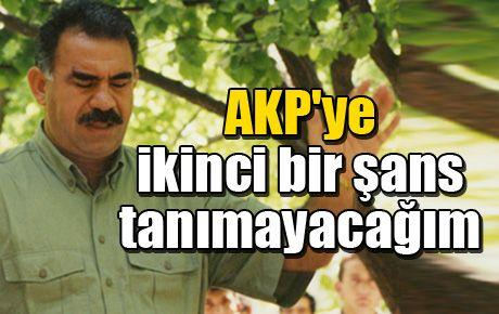 AKP'ye ikinci bir şans tanımayacağım