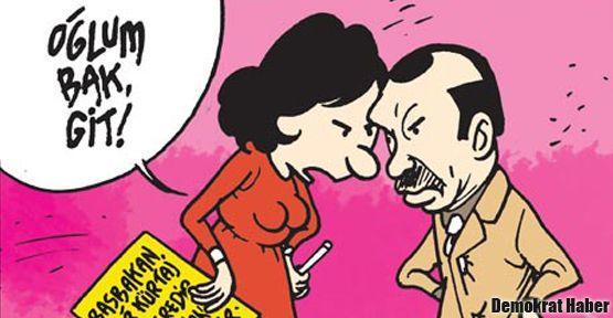 Akşam'dan Erdoğan'a 'oğlum bak git!' tepkisi