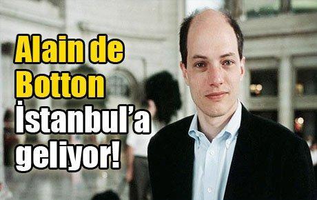 Alain de Botton İstanbul'a geliyor