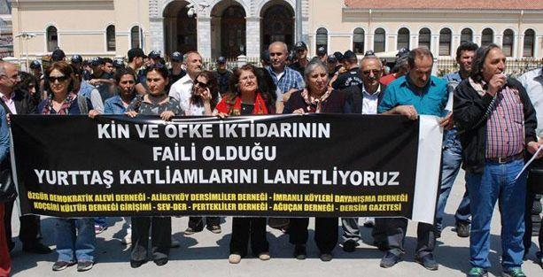 Alevi örgütlerinden İstanbul Valiliği önünde protesto