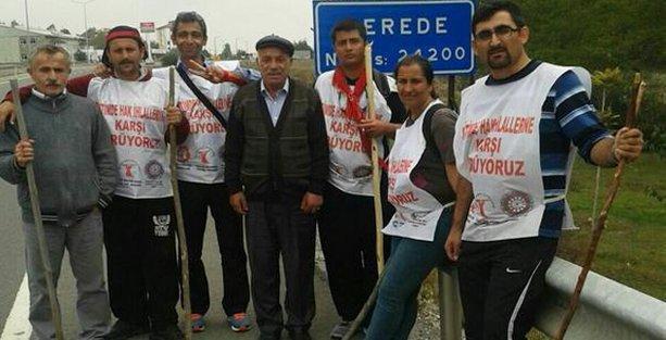 Alevi yürüyüşüne Gerede'de saldırı