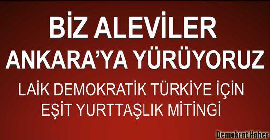 Aleviler 7 Ekim'de Ankara'da buluşuyor