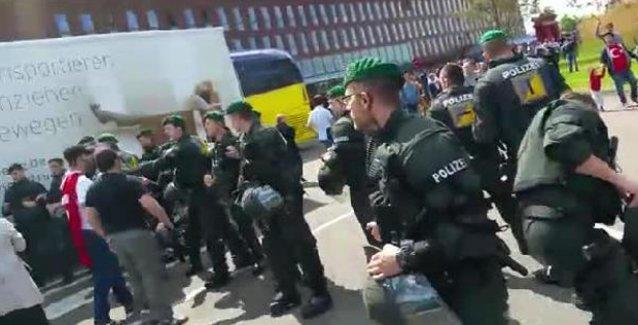 Aleviler Almanya'da Erdoğan'ı protesto etti