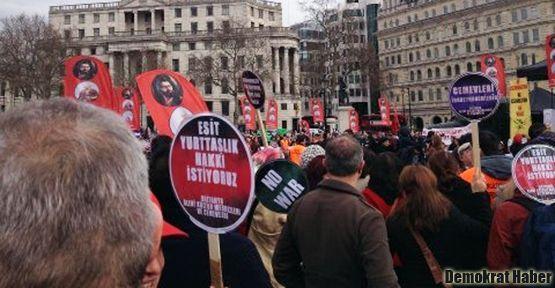 Aleviler Londra'dan seslendi: Mezhep savaşı istemiyoruz!