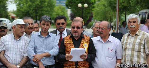 Aleviler TRT sansürünü protesto etti