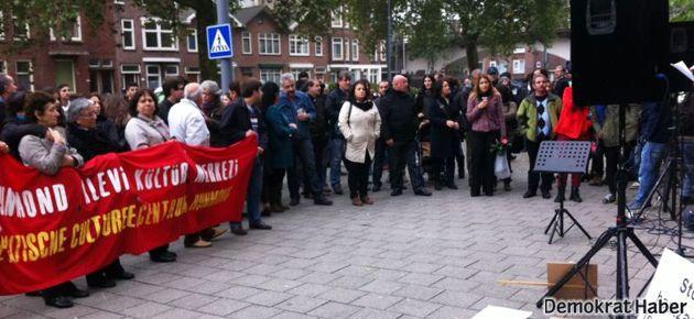 Alevileri aşağılayan Akgündüz protesto edildi