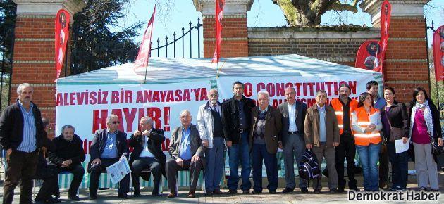 'Alevisiz bir anayasa'ya hayır!'
