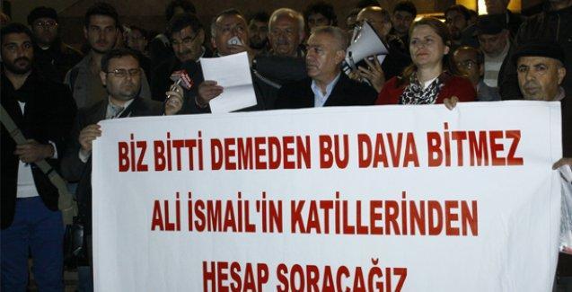 Ali İsmail Korkmaz davasında verilen cezalar Mersin'de protesto edildi