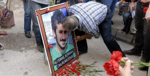 Ali İsmail Korkmaz saldırıya uğradığı fırının önünde anıldı