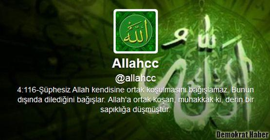 Allahcc'nin hesabı hacklendi!