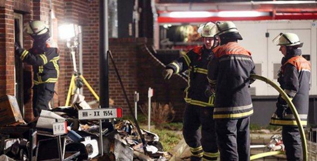 Alman gazetesine molotoflu saldırı