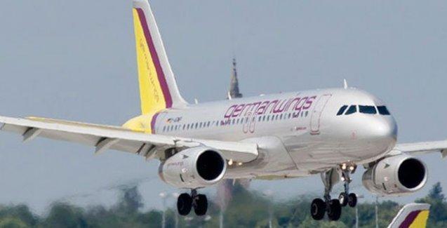 Alman yolcu uçağı düştü
