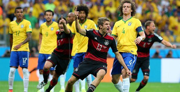 Almanya, Brezilya'yı gole boğdu