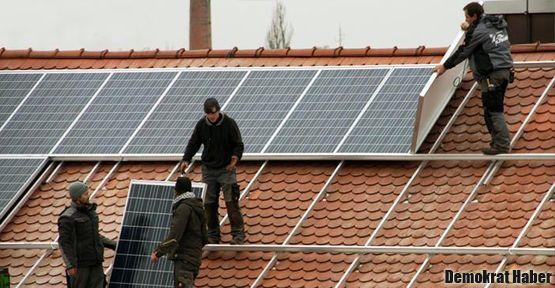 Almanya enerjide güneşi gördü