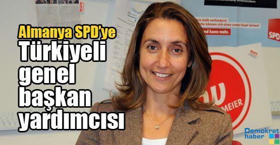 Almanya SPD'ye Türkiyeli genel başkan yardımcısı