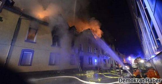 Almanya'da yangın: 7'si çocuk 8 Türkiyeli öldü