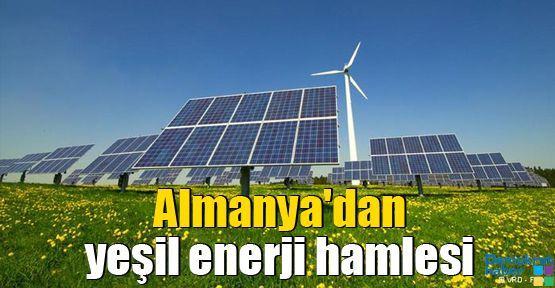 Almanya'dan yeşil enerji hamlesi