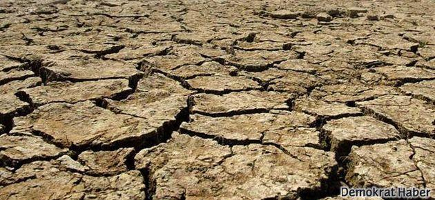 Altı il için kuraklık tehlikesi uyarısı