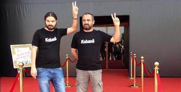 Altın Portakal'da Kobani'ye destek eylemi