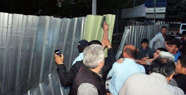 Amasya'da ağaç direnişi