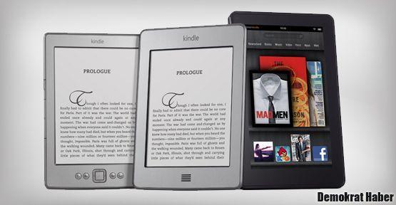 Amazon son bir yılda 100 milyon e-kitap sattı