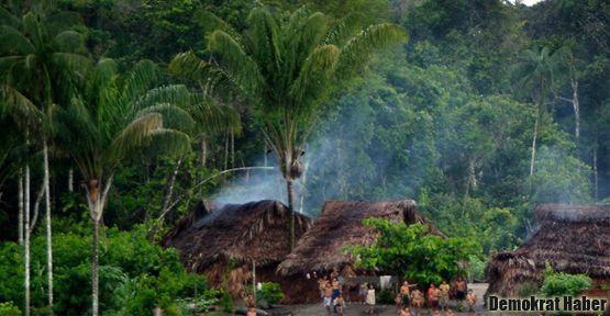 Amazon yerlilerine toplu katliam