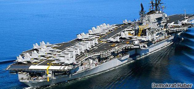 Amerikan uçak gemisi Kızıldeniz'de