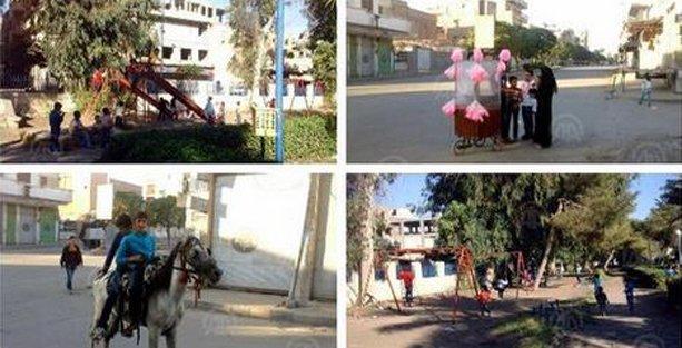Anadolu Ajansı'na göre, IŞİD işgali altındaki Rakka'da herkes mutlu!