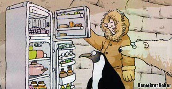 'A'nın altındaki buzdolabına yasak