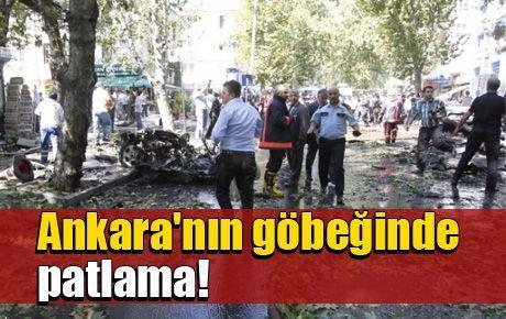 Ankara Kızılay'da patlama!