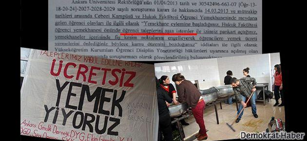 Ankara Üniversitesi'nde bir garip soruşturma