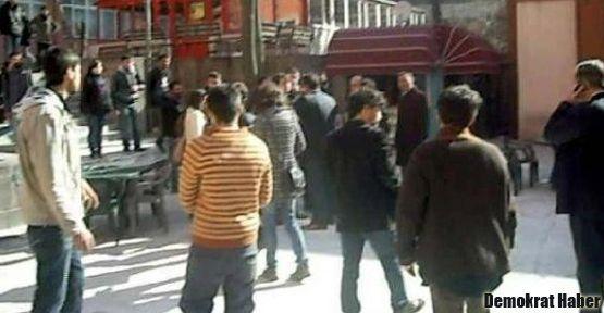 Ankara Üniversitesi'nde öğrencilere satırlı saldırı